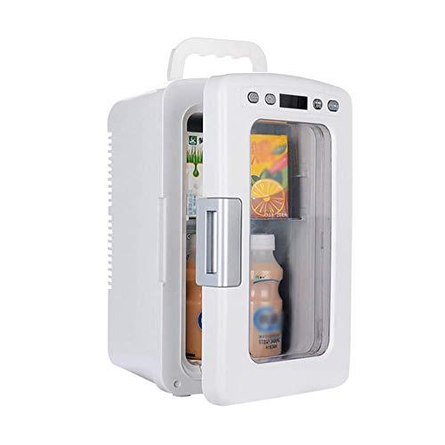 X&JJ Mini Refrigerador Termoeléctrico Más Fresco Y Más Cálido: para El Hogar, La Oficina, El Automóvil, El Dormitorio O El Barco - Compacto Y Portátil - Cordones De Alimentación De