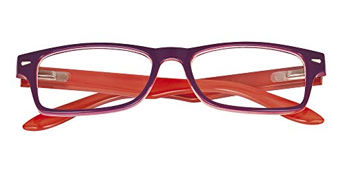 El Charro Occhiali da Lettura Modello Kansas Viola/Arancio, Diottria +2-1 Prodotto