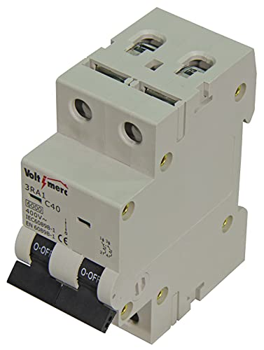 Voltimerc Interruptor Magnetotérmico 2 Polos 40A 6KA