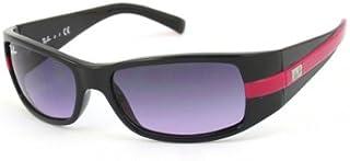 Ray-Ban - Ray Ban Junior Gafas de sol Para Niño 9041S - 158/90: Negro brillante / Fucsia