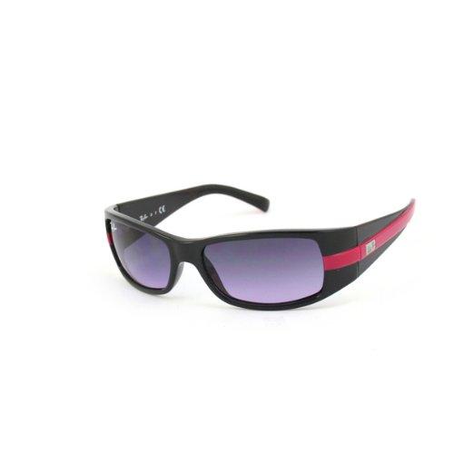 Ray Ban Junior Gafas de sol Para Niño 9041S - 158/90: Negro brillante / Fucsia