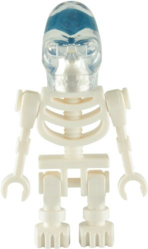LEGO Indiana Jones: Akator Skeleton (Crystal Skull) Minifigura