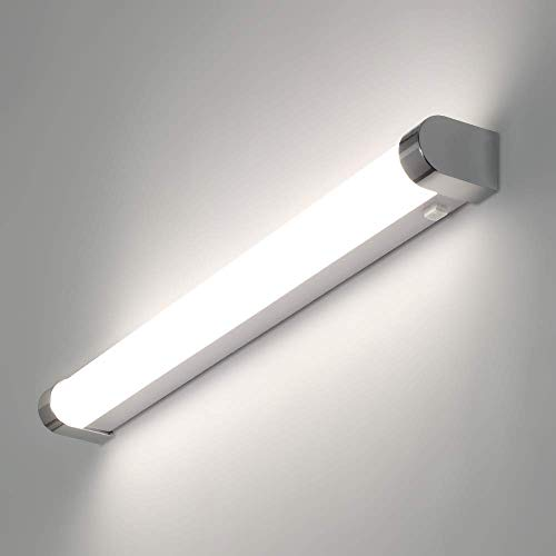 LED Wandleuchte ULKE 15W Wandlampe Wasserdicht IP44 Tageslicht ca.4000K Innen Moderne Wandbeleuchtung mit Schalter