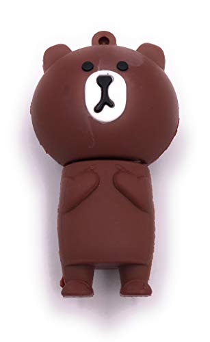 H-Customs Grizzly beer bruin honing beer USB-stick 8GB 16GB 32GB 64GB USB 2.0-3.0 16GB USB 3.0