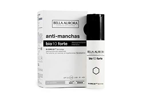 Bella Aurora Bio 10 Forte Crema Anti-Manchas Facial Piel Sensible SPF 20,...