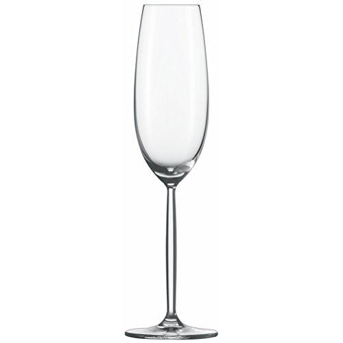 SCHOTT zWIESEL Diva, verre à mousseux 7, Lot de 2, cadeau, verre, 220 ml, 104594