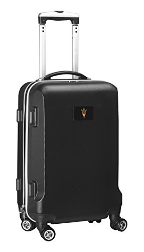 Fantastic Prices! NCAA Arizona State Sun Devils Carry-On Hardcase Spinner, Black