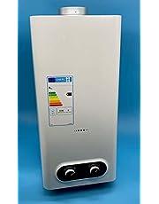 Calentador de agua a Gas Butano/Propano 11 Litros   Cámara abierta (Atmosférico)   Bajas Emisiones de NOX   Encendido Automático   Calificación Energética A