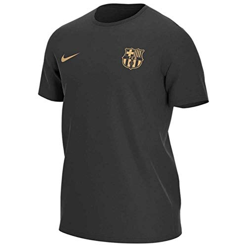 Nike Herren FCB M NK Dry Tee CORE Match T-Shirt, Black, M