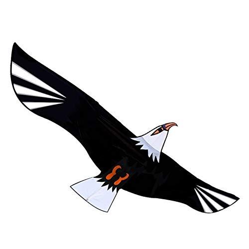 TX NIÑA 75 Pulgadas De Energía Enorme Águila Cometa con Cadena Y Contengan La Novedad De Las Cometas De Juguete Eagles Flying Grande (Size : 75 Inch)