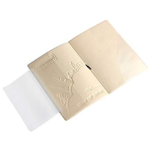 Koehope Reizen paspoort ID kaart case cover credit ticket protector nieuw