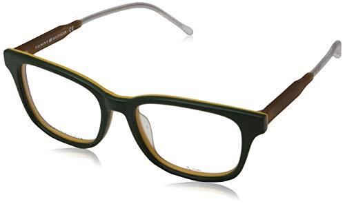 Tommy Hilfiger 762753895387 Tommy Hilfiger Brillengestelle 762753895387 Wayfarer Brillengestelle 52, Grün