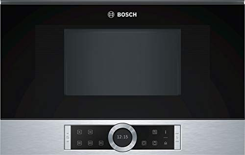 Bosch - BFR634GS1 - Micro-ondes monofonction - Encastrable - Inox - 900 W