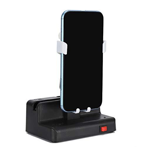 YOIM Movimiento de oscilación automático, Ajuste de Silencio Accesorios del Contador de Pasos Negros Kit de Pasos compulsivos, Carga USB para el Programa WeChat Run Step Count La mayoría de los