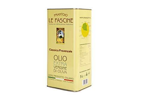 Le Fascine - Huile d'olive extra vierge 100% Italien (5 L)