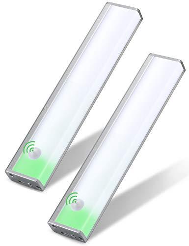 Mymazn Schrankleuchten LED Sensorleuchte Lichtsensor Kleiderschrank Led Beleuchtung mit Bewegungsmelder...