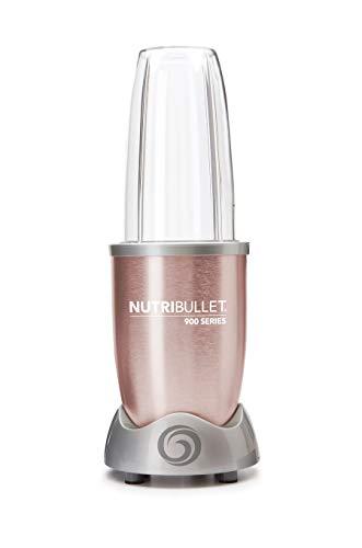 NutriBullet NUTRI900RG 900 W Entsafter, Edelstahl, Roségoldfarben