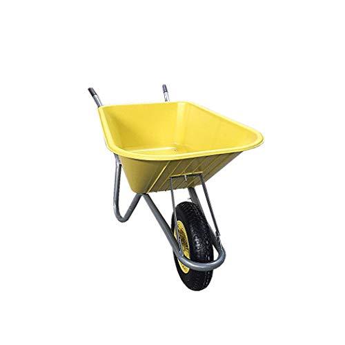 HTI-Line Schubkarre Havel 100 Gartenschubkarre Mehrzweckkarre Muldenkarre Bauschubkarre Einradkarre Mistkarre Transportkarre Pferdemist