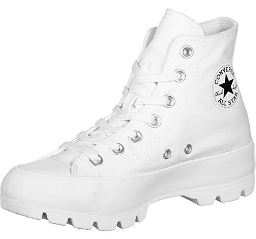 Converse Chuck Taylor All Star Lugged - Hi - Blanco/Negro/Blanco Canvas