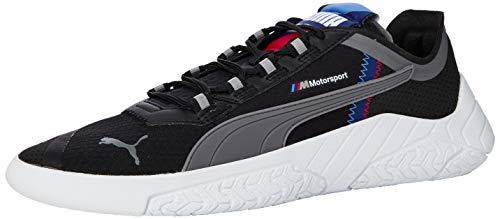 PUMA Unisex Bmw Mms Replicat-x Sneaker, Black White-Blueprint 01, 44 EU