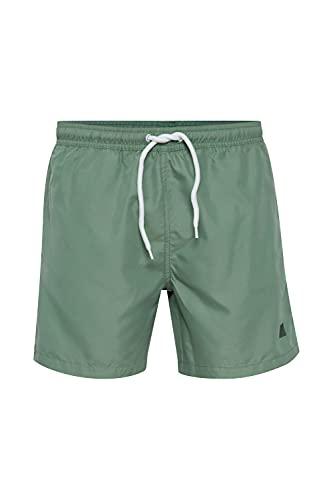!Solid Herren Shorts Badehose 21104896, Größe:L, Farbe:Hedge Green (176323)