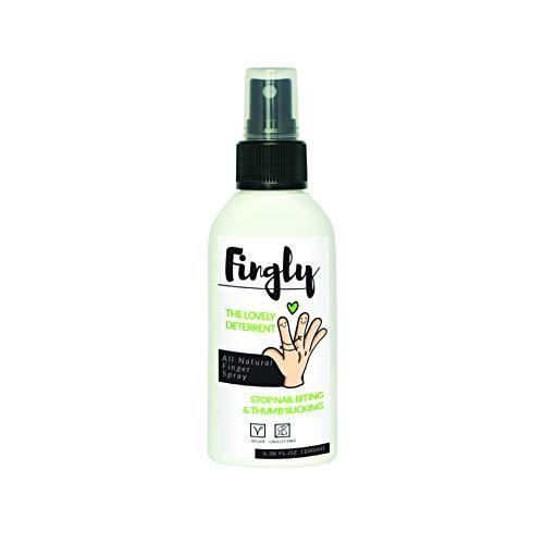 Non mangiare le unghie con lo spray FINGLY | Prodotto biologico anti onicofagia | Alternativa a smalto per non mangiare unghie ed unghie finte | 100ml