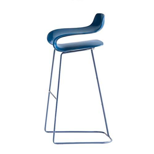 SQQSLZY Taburetes de Bar, taburetes de Bar, sillas de Bar, sillas Simples y Personalizadas, sillas Altas Creativas y de Moda, heces Altas, sillas de Bar, taburetes de Bar