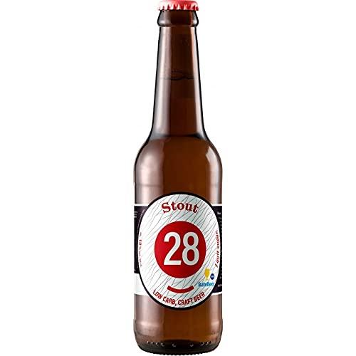 Cerveza 28 by Caulier Imperial Stout 330ml (1)