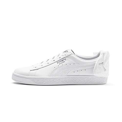 Puma Basket Bow Animal Wn's Sneaker Donna 367828 01 White (37.5 EU)