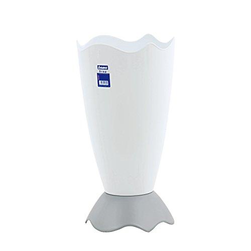 Bama Porta ombrelli Drop Arredo e Decorazioni casa, PVC, White, Taglia Unica