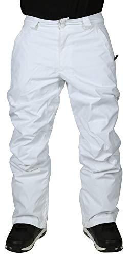 DC Snow Chino Mens Snowboard Pants Bright White Sz M