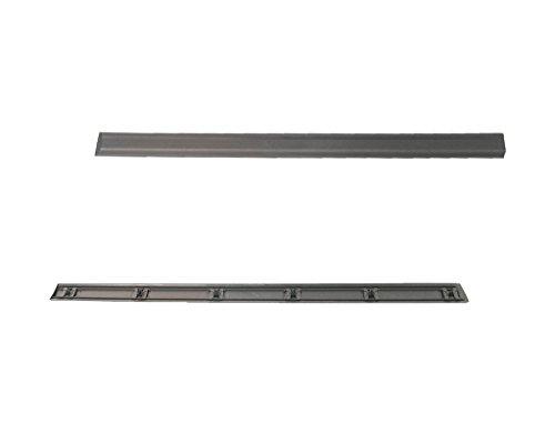 MS autoonderdelen 1295245 sierlijst deur, voor, rechts, zwart