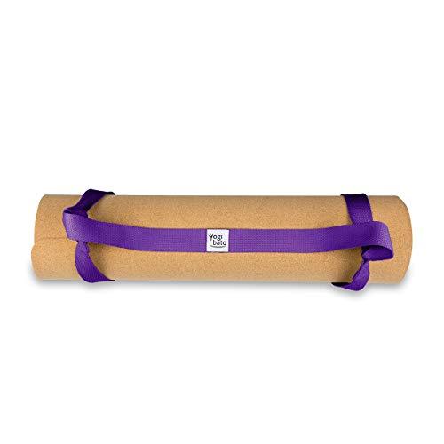 Yogibato draagband voor yogamatten - universele draagband 100% katoen - draagband voor sport- en gymnastiekmatten - Yoga Mat Carrying Strap - draagriem yogamat