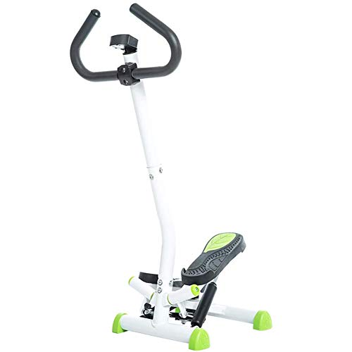 TUTU 2In1 Twister Stepper mit Power Ropes-Stx300 Swing Stepper & Sidestepper Für Anfänger und Fortgeschrittene,Up-Down-Stepper mit Multifunktionsdisplay,ABS,B.