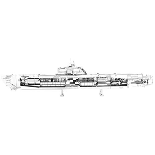 Metal Earth- Maqueta metálica Submarino alemán U-Boat (Fascinations MMS121)