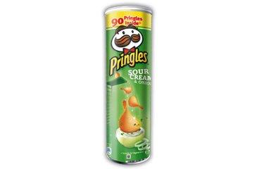 Pringles Sour Cream & Onion (Pack of 6)