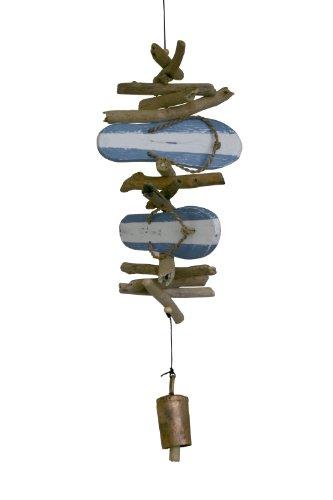 Cohasset (589B Twin Sandalen Blau gestreift Bell