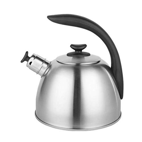 YWSZJ Caldera de té de Acero sin silbar para calderas de Agua Caliente Que silba - Capacidad de la Tetera para Cocina de inducción