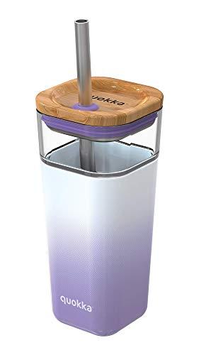 Quokka Liquid Cube - Lilac Gradient 540 ML | Vaso de Cristal...