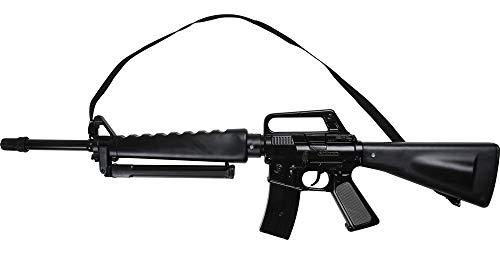 Das Kostümland Gonher 118/6 Sturmgewehr M-118 zum Soldaten Kostüm - Spezialeinheit Spielzeugwaffen Command Polizei Polizist Scharfschütze FBI Karneval Fasching Theater