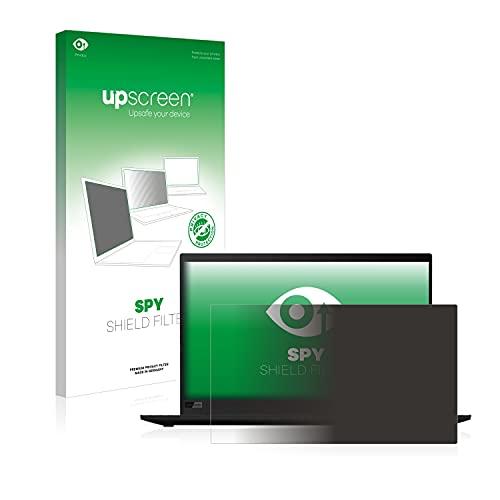 upscreen Blickschutzfilter kompatibel mit Lenovo ThinkPad X1 Carbon (8. Generation) Privacy Filter - Anti-Spy Blickschutzfolie Sichtschutz-Folie
