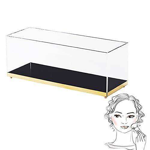 Caja De Almacenamiento De Cosméticos A Prueba De Polvo De Gran Capacidad, Estante De Acrílico para Productos para El Cuidado De La Piel, Cajón De Almacenamiento De Maquillaje para Mujer Apilable