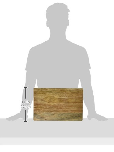 Architec GRIPPERWOOD SHESHAM Cutting Board, 10' x 15' Sheesham, Wood natural color