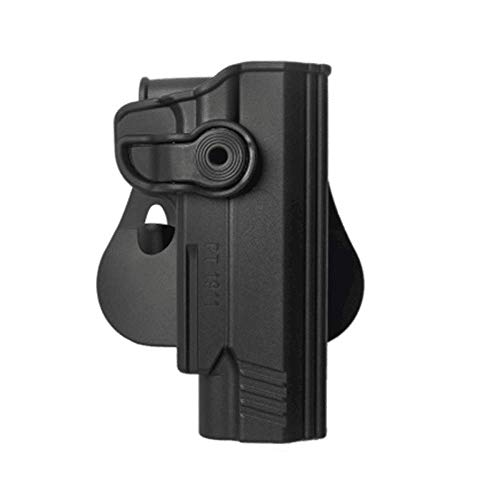 IMI-Z1130 IMI Defense Polymer Roto Right Hand Paddle Holster for Taurus PT1911 & PT1911 With Rail + 1x mini PVC Punisher patch