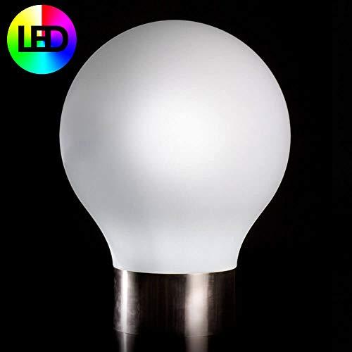 Vondom Second Light lampe de sol diam.75 cm LED blanche lumineuse/RGBW Multicouleur