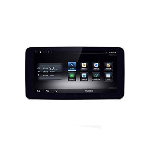 Hesolo 9.33 Pulgadas Android 7.1 Car Radio Estéreo Control Central Navegador 4K 1080P Reproductor MP5 Compatible para Benz C 2015-2018 (3G + 32G), Pantalla IPS de Vista Completa, 4G + WiFi.