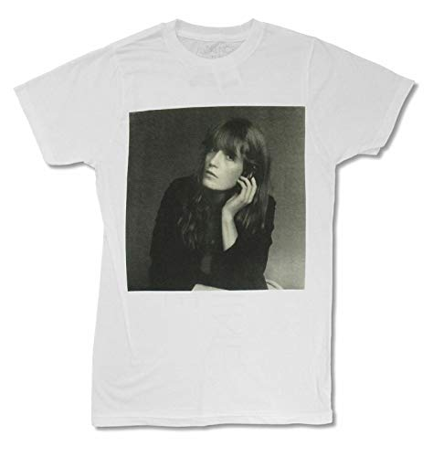 Florence + The Machine Album Cover White T Shirt New Adult Band Merch