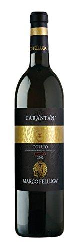 Marco Felluga Collio Rosso Carantan 50 prozent Merlot-40 prozent Cabernet Franc-10 prozent Cabernet Sauvignon 3798  2009  (1 x 0.75 l)