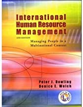 International Human Resource Management (4th, 05) by Dowling, Peter J (Peter J Dowling) - Welch, Denice E [Paperback (2004)]