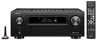 Denon AVR-X6500H Receiver - 8 HDMI in /3 Out, High Power 11.2 Channel (140 W/Ch) Amplifier Home Theater Receiver(Renewed)
